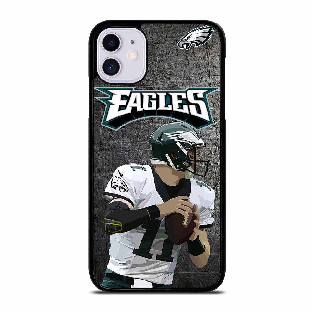 CARSON WENTZ PHILADELPHIA EAGLES iPhone 11 Case