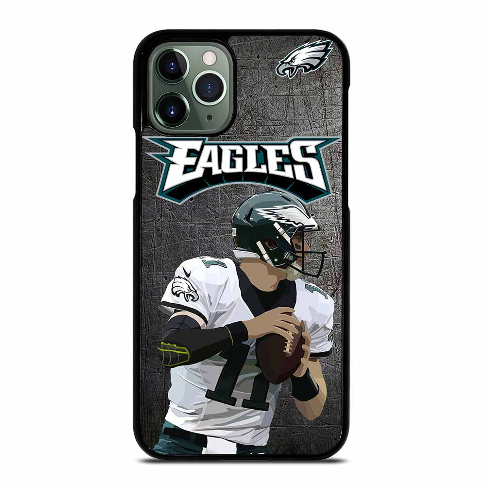 CARSON WENTZ PHILADELPHIA EAGLES iPhone 11 Pro Max Case
