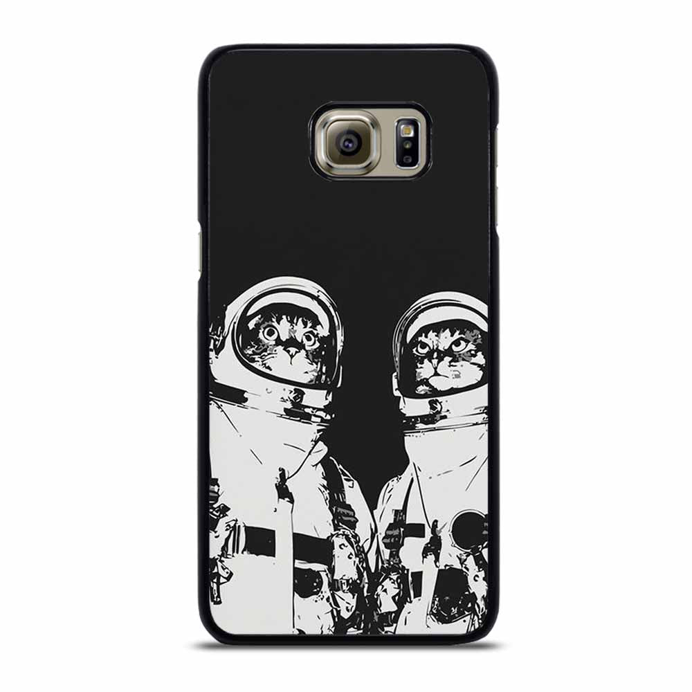 CAT ASTRONAUTS Samsung Galaxy S6 Edge Plus Case