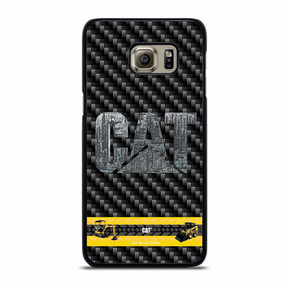 CAT CATERPILLAR CARBON Samsung Galaxy S6 Edge Plus Case