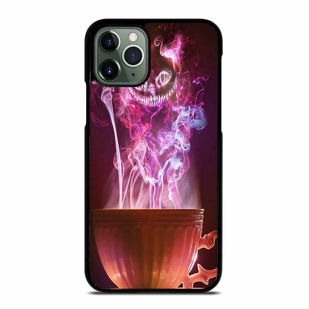 CHESHIRE CAT CUP SMOKE TEA iPhone 11 Pro Max Case