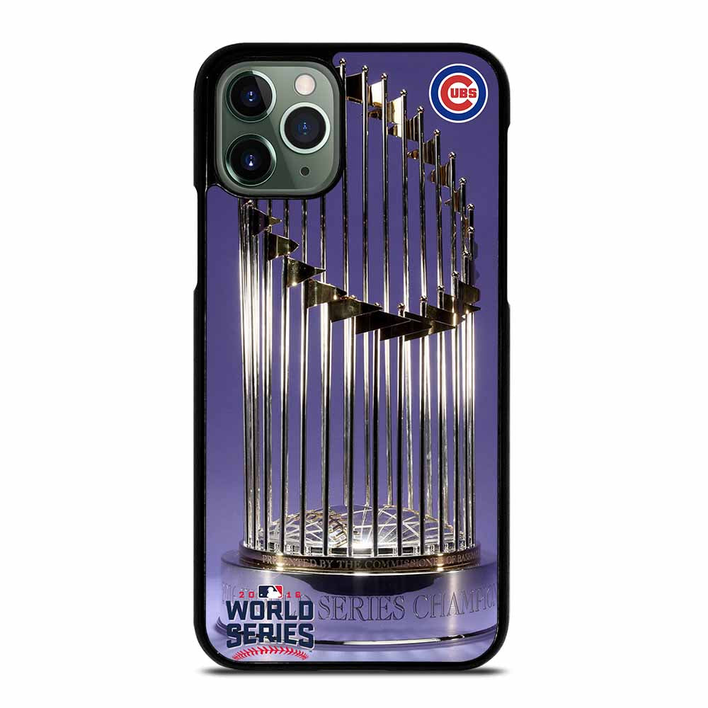 CHICAGO CUBS WORLD SERIES CHAMPS iPhone 11 Pro Max Case