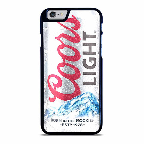 COORS LIGHT BEER iPhone 6 / 6S Case