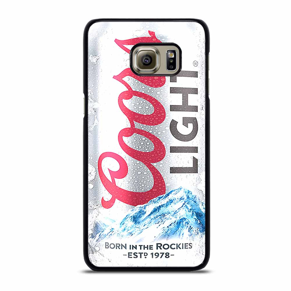 COORS LIGHT BEER Samsung Galaxy S6 Edge Plus Case