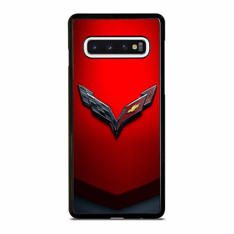 CORVETTE CHEVY STINGRAY RED Samsung Galaxy S10 Case