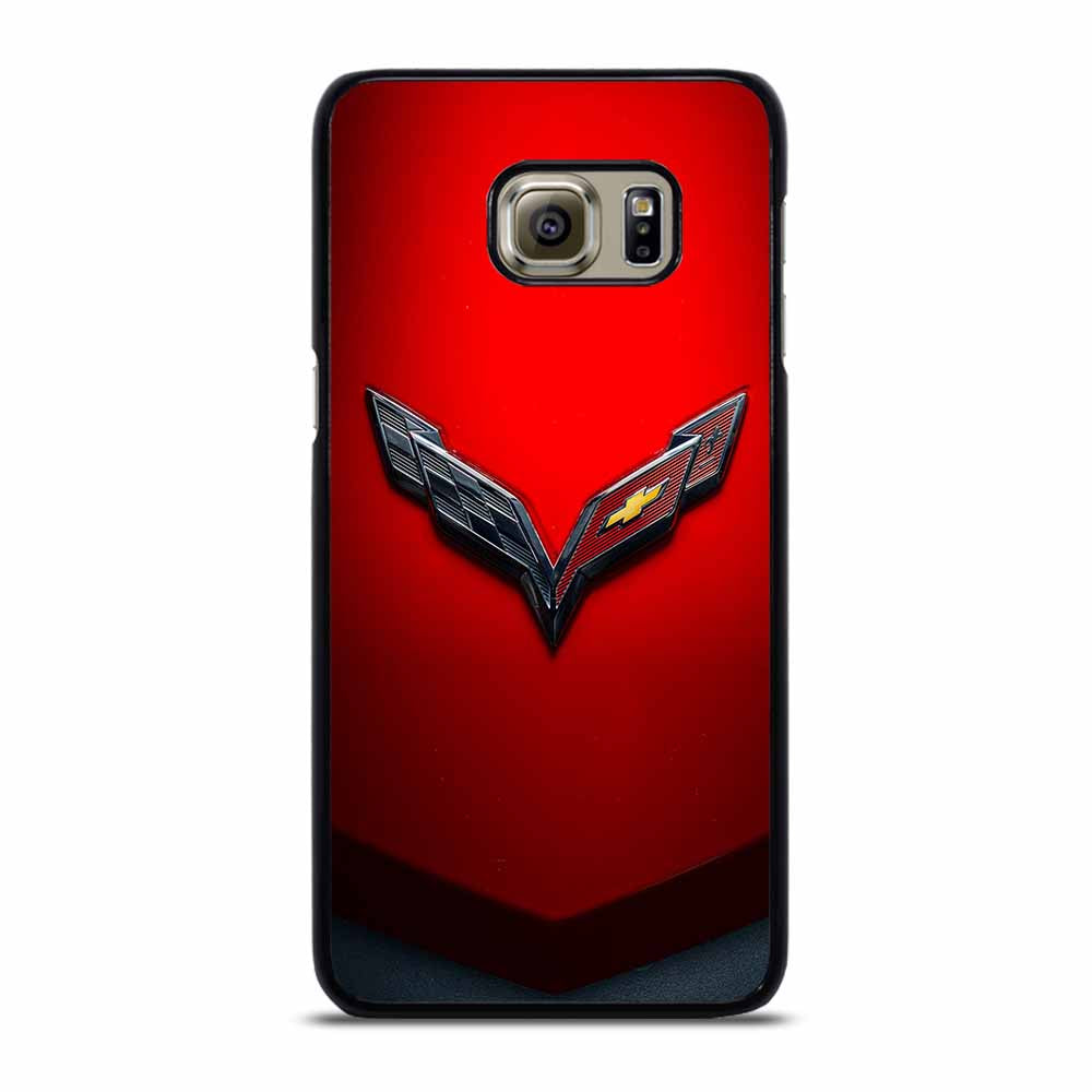 CORVETTE CHEVY STINGRAY RED Samsung Galaxy S6 Edge Plus Case