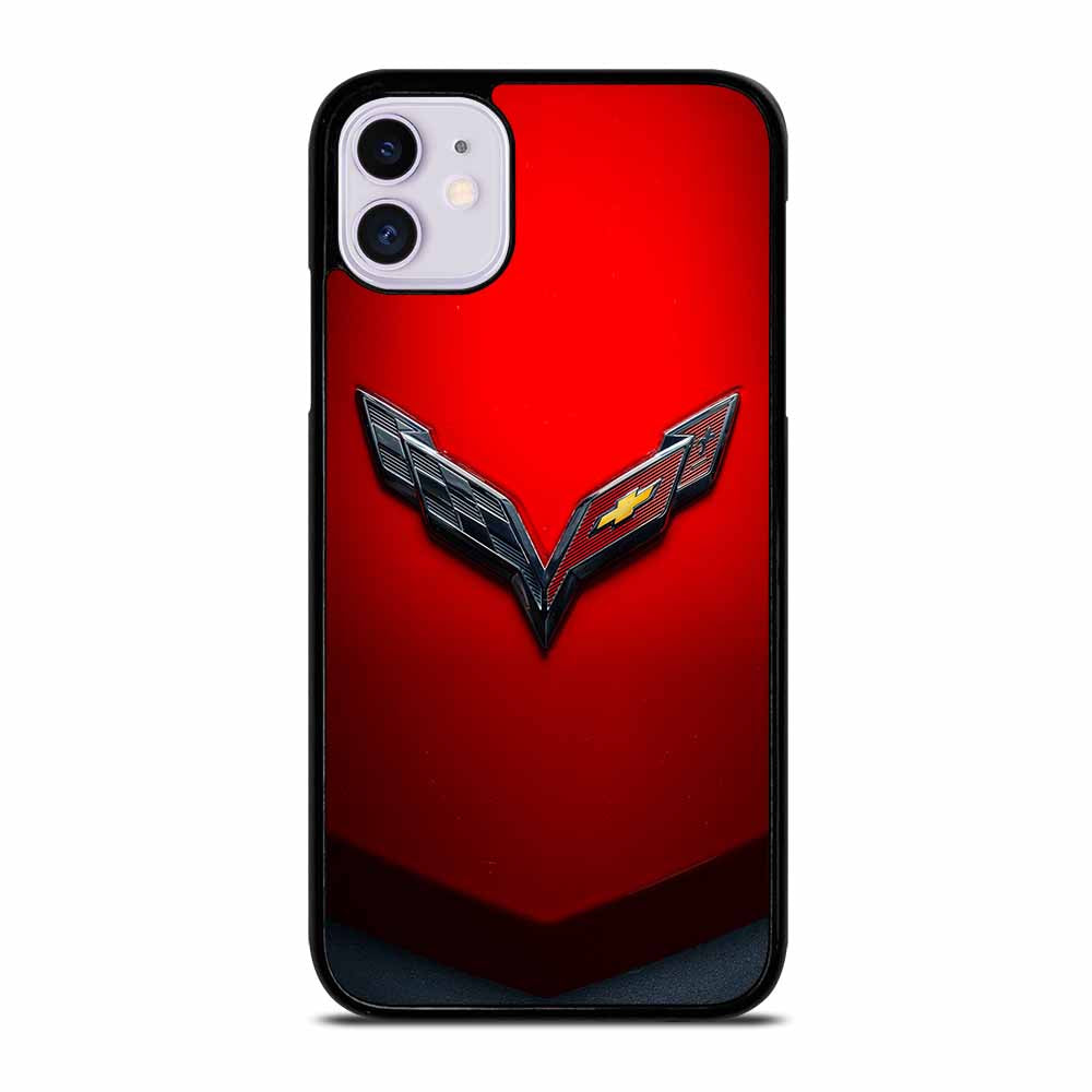 CORVETTE CHEVY STINGRAY RED iPhone 11 Case