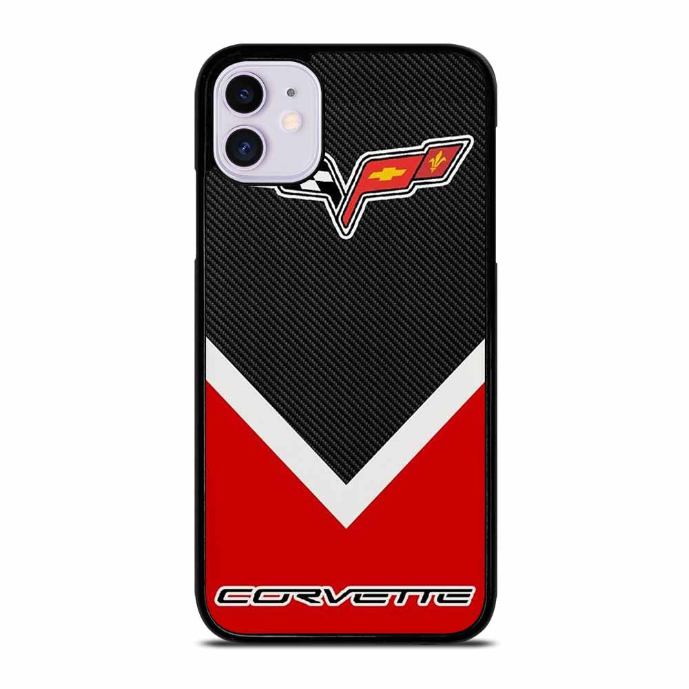 CORVETTE LOGO CARBON iPhone 11 Case