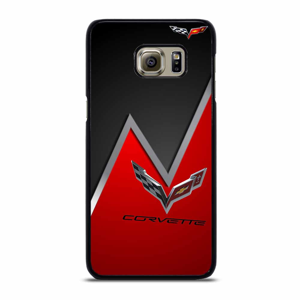 CORVETTE RED ICON #1 Samsung Galaxy S6 Edge Plus Case