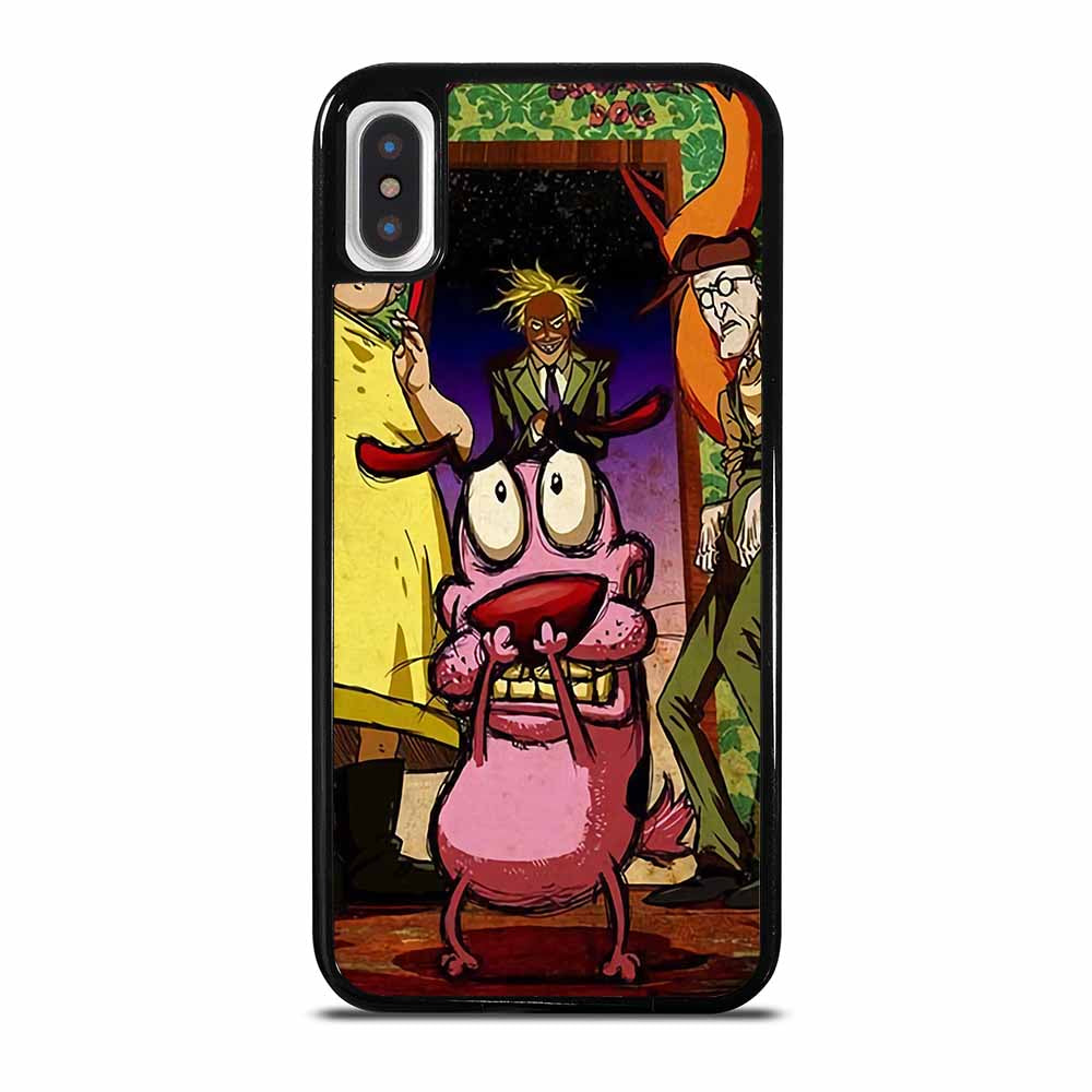 COURAGE THE COWARDLY DOG iPhone X / XS case