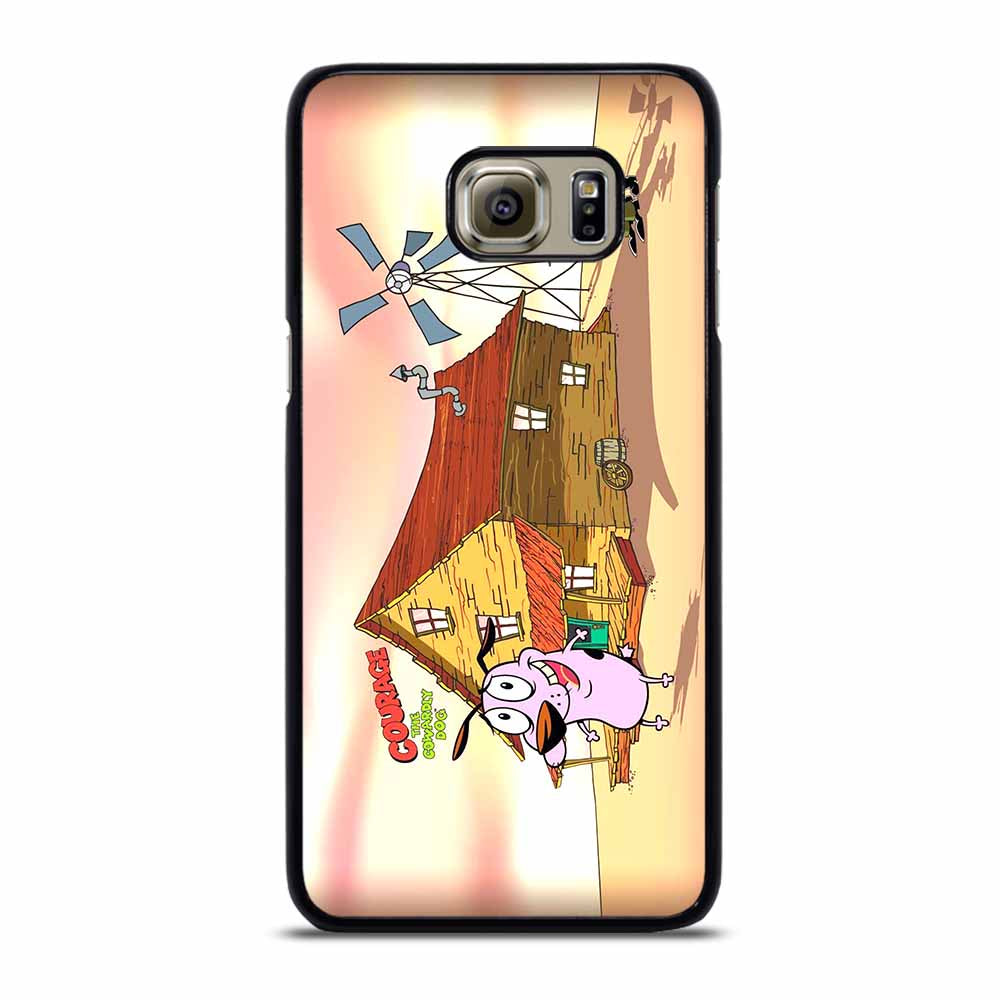 COURAGE THE COWARDLY DOG #2 Samsung Galaxy S6 Edge Plus Case