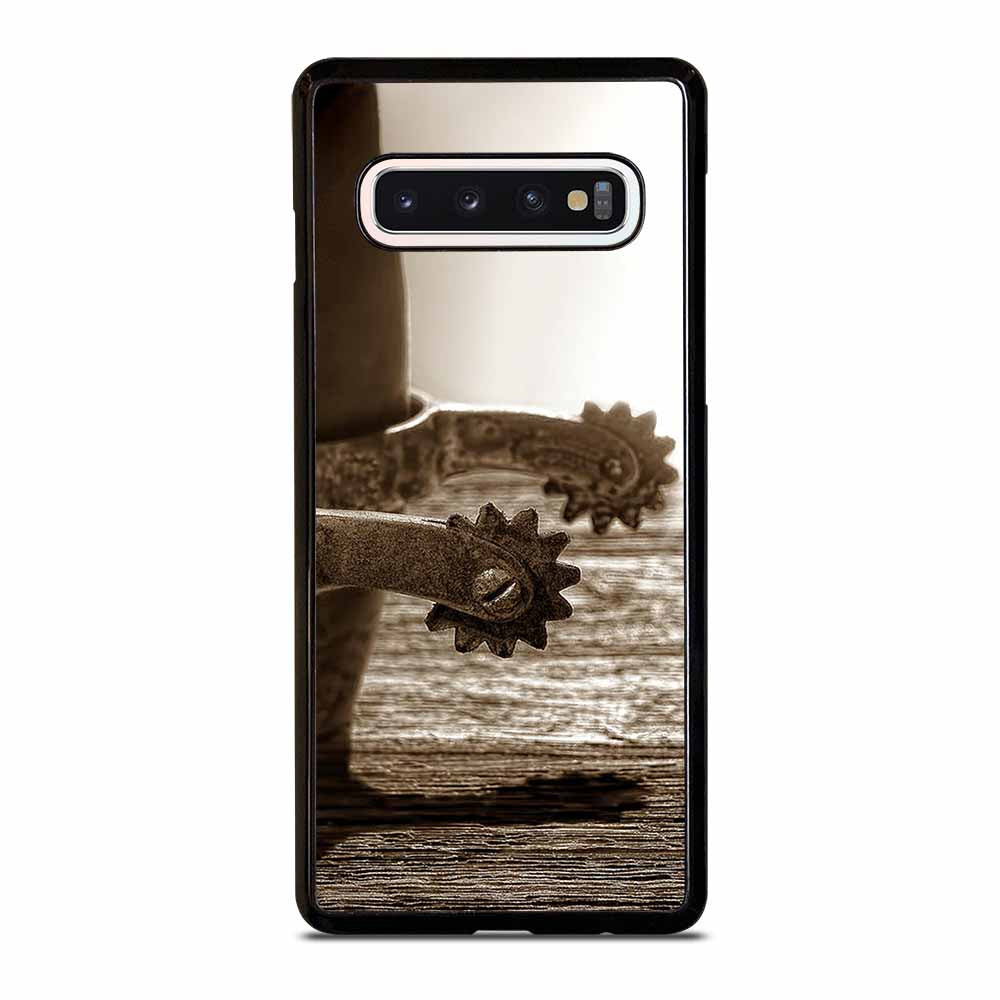 COWBOY COWGIRL SPURS Samsung S6 S7 Edge S8 S9 S10 Plus S10 5G S10e Note 8 9 10 10+ Case