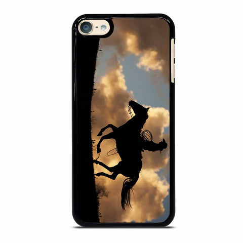 COWGIRL AND HORSE iPod 6 Case