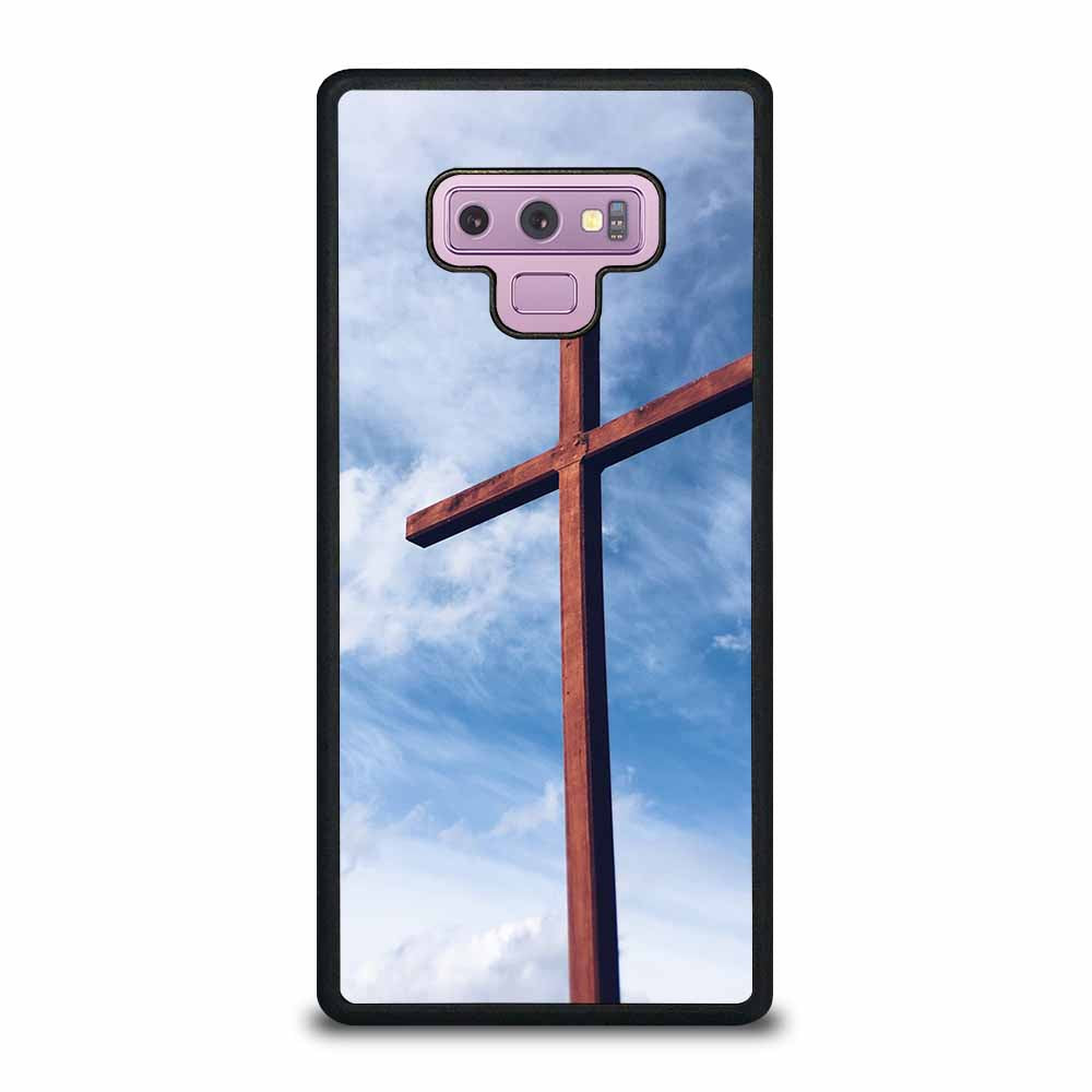 CROSS AGAINST SKY Samsung Galaxy Note 9 case
