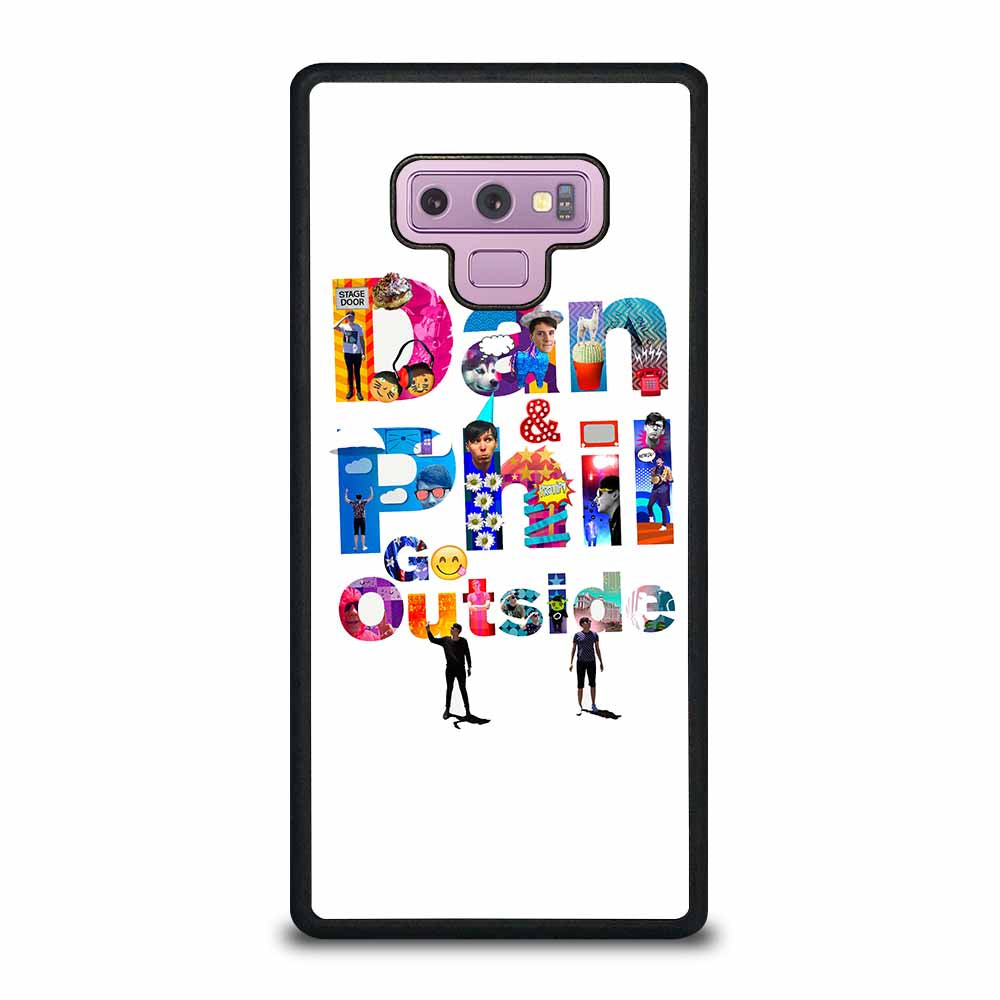 DAN & PHIL GO OUTSIDE Samsung Galaxy Note 9 case