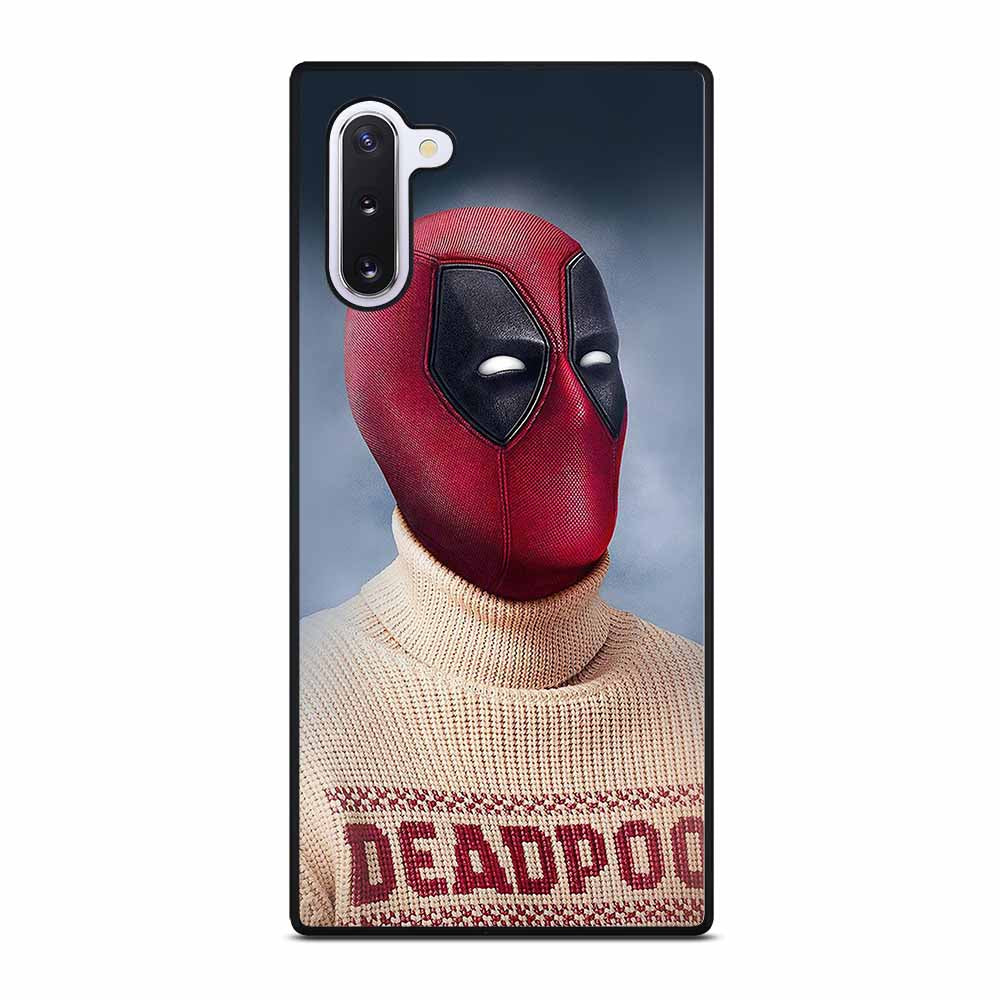 DEADPOOL AND SWEATER Samsung Galaxy Note 10 Case