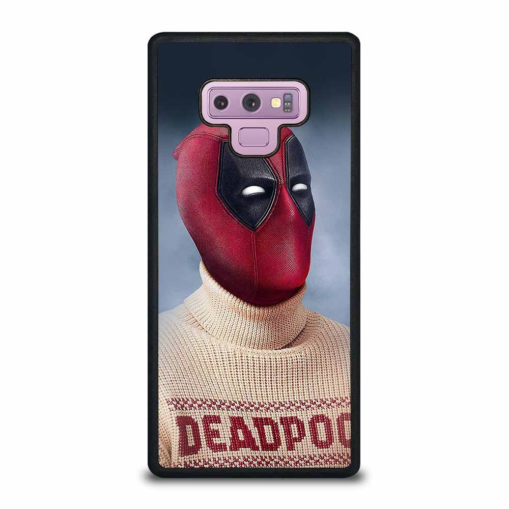 DEADPOOL AND SWEATER Samsung Galaxy Note 9 case