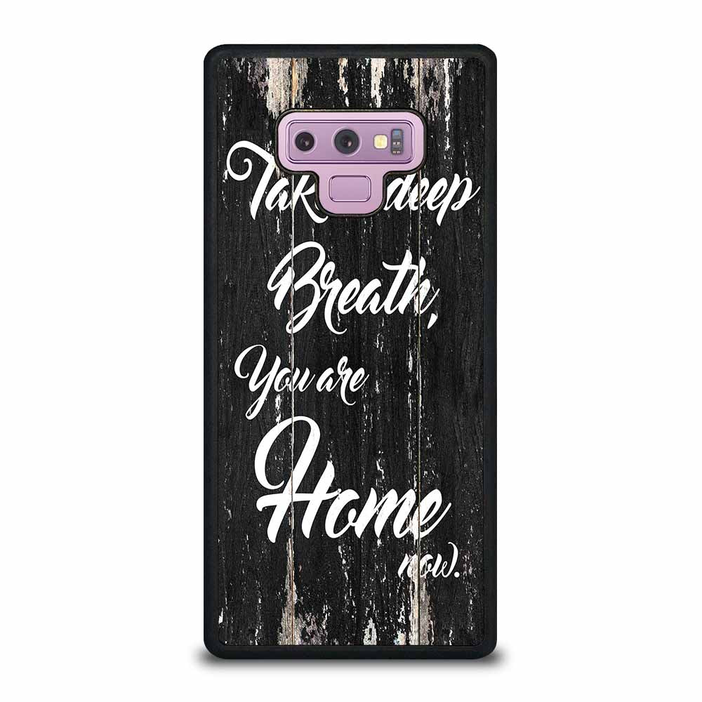 DEEP MOTIVATION QUOTE Samsung Galaxy Note 9 case