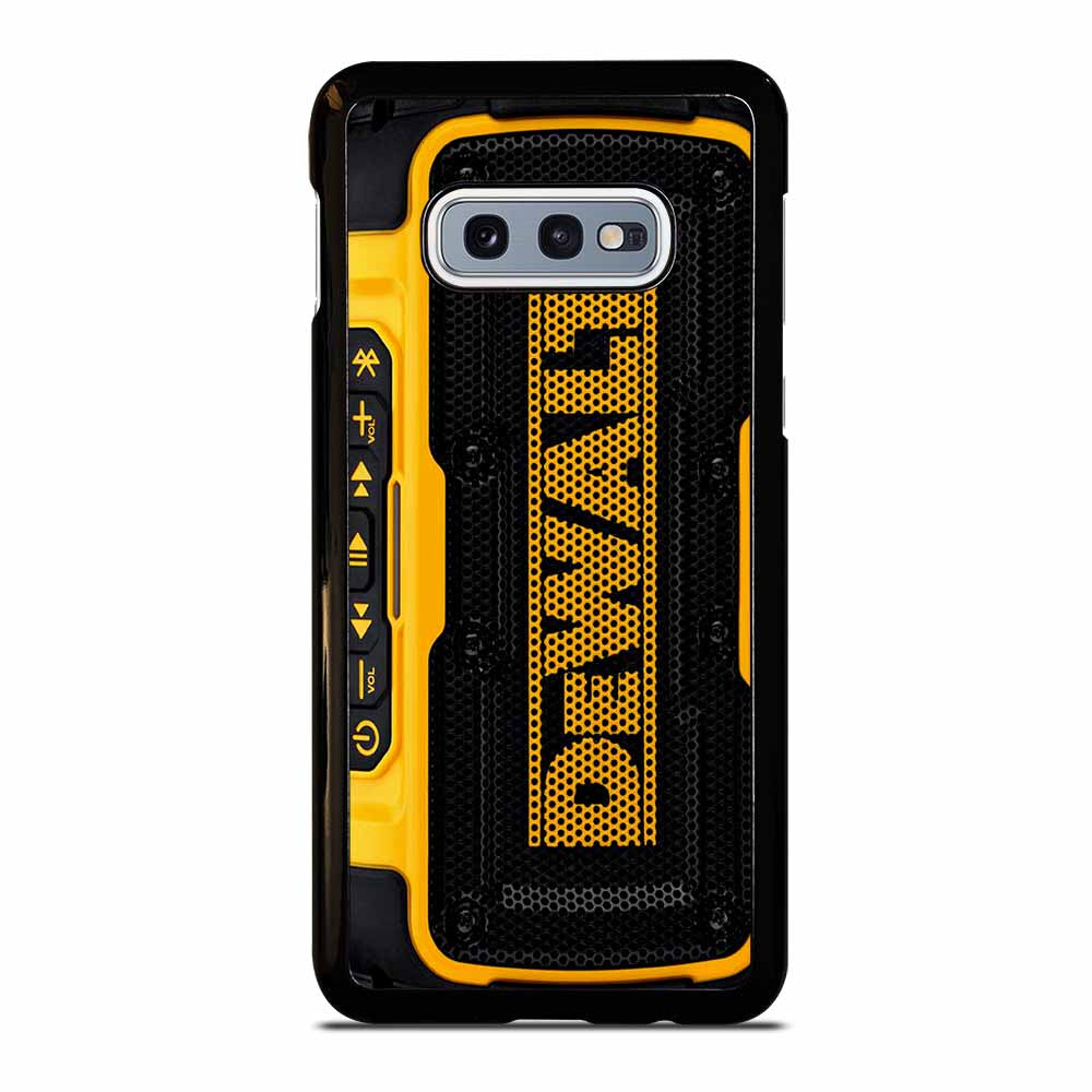 DEWALT SPEAKER BLUETOOTH #1 Samsung Galaxy S10e case