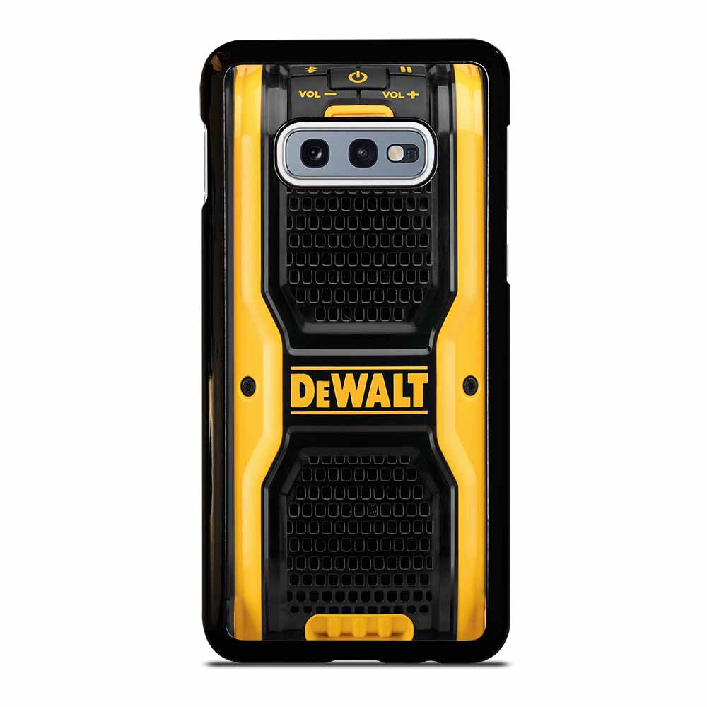 DEWALT SPEAKER BLUETOOTH Samsung Galaxy S10e case