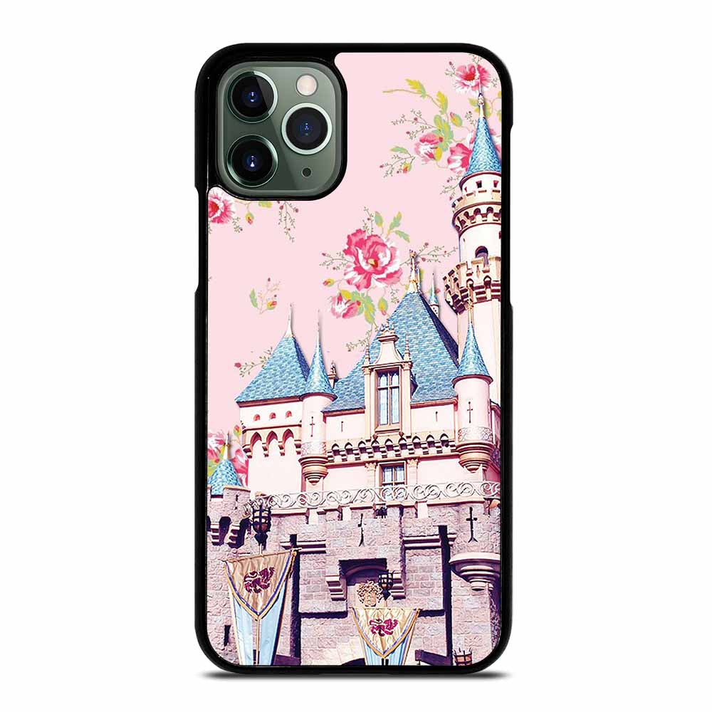 DISNEY SLEEPING BEAUTY CASTLE FLORAL #1 iPhone 11 Pro Max Case