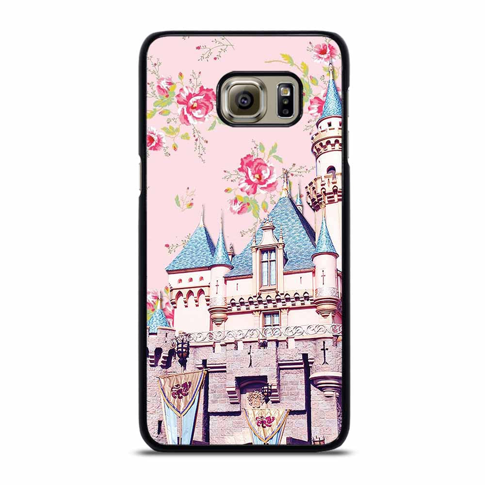 DISNEY SLEEPING BEAUTY CASTLE FLORAL #1 Samsung Galaxy S6 Edge Plus Case