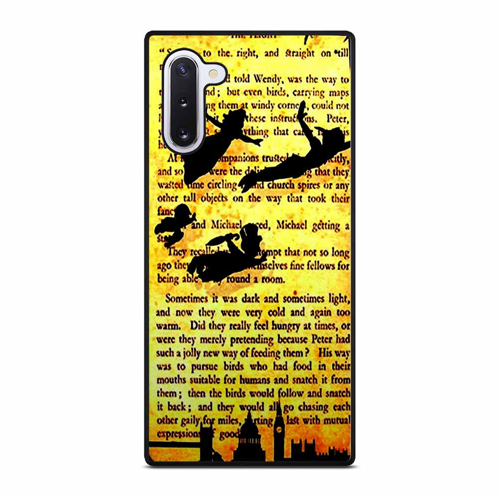 DISNEY TINKER BELL PETER PAN QUOTES Samsung Galaxy Note 10 Case