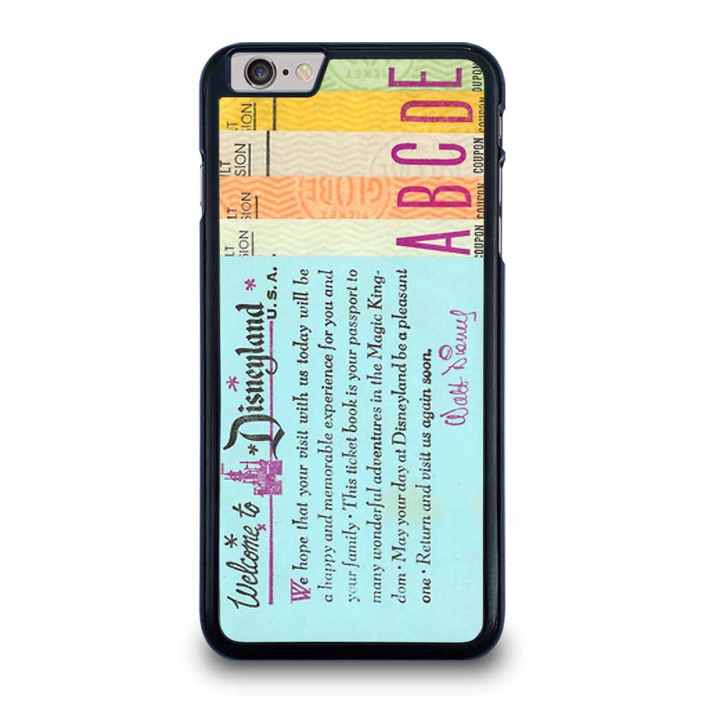 DISNEY WORLD TICKET BOOK iPhone 6 / 6s Plus Case
