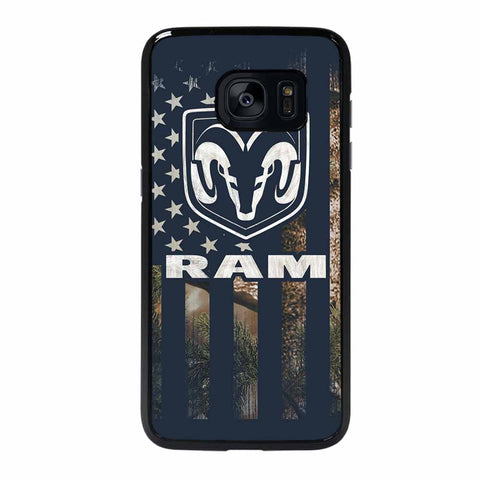 DODGE RAM FLAG Samsung Galaxy S7 Edge Case