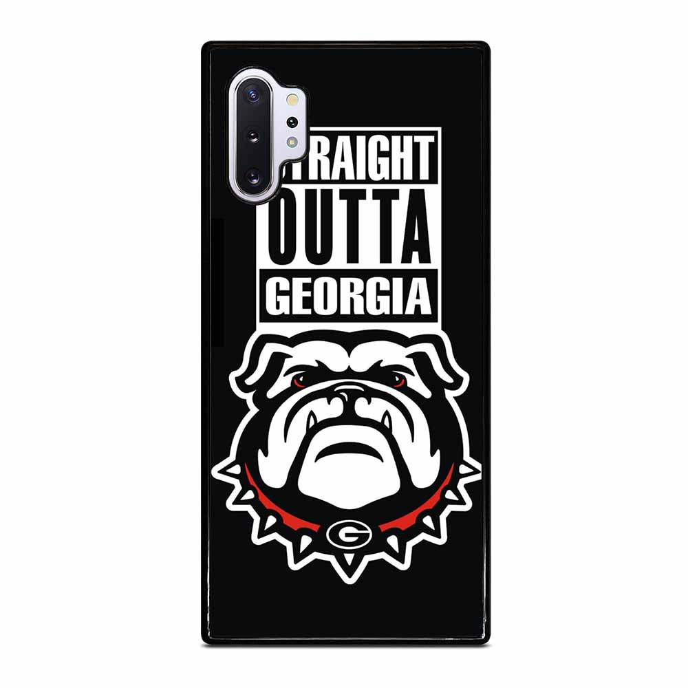 GEORGIA BULLDOGS UGA STRAIGHT OUTTA Samsung Galaxy Note 10 Plus Case