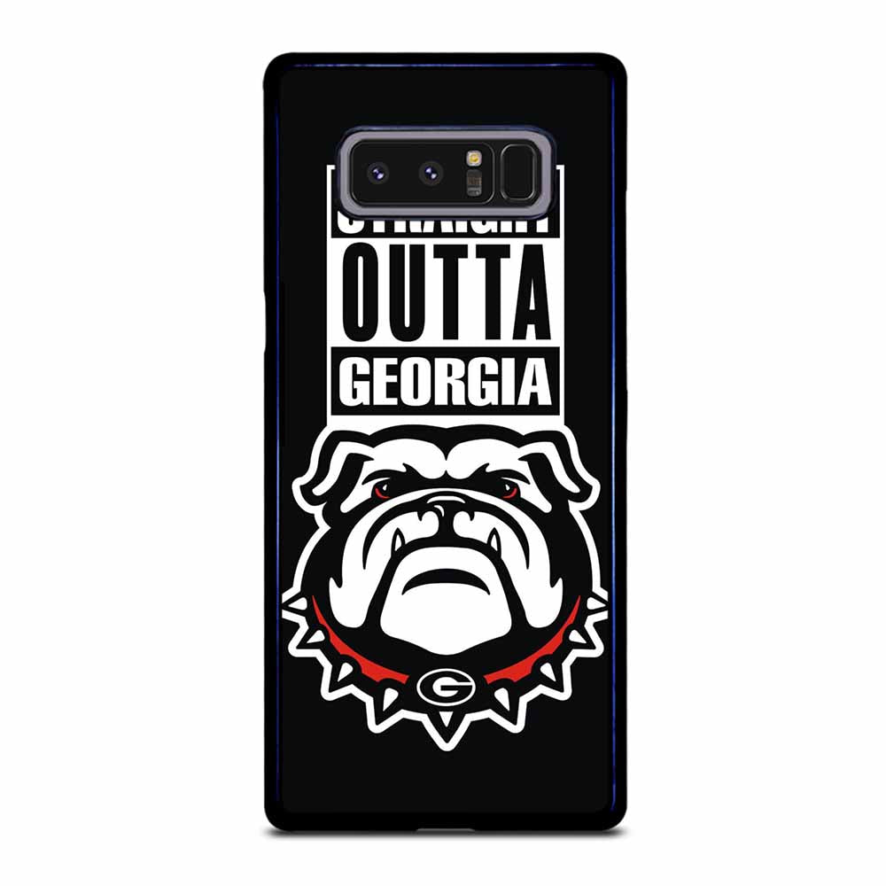 GEORGIA BULLDOGS UGA STRAIGHT OUTTA Samsung Galaxy Note 8 case