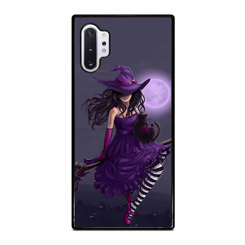 HALLOWEEN MOON WITCH Samsung Galaxy Note 10 Plus Case