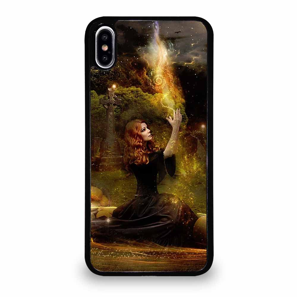 HELLOWEEN WITCH HORROR iPhone XS Max Case