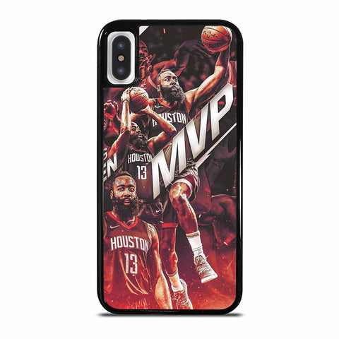 JAMES HARDEN ROCKETS ART 1 iPhone X / XS case