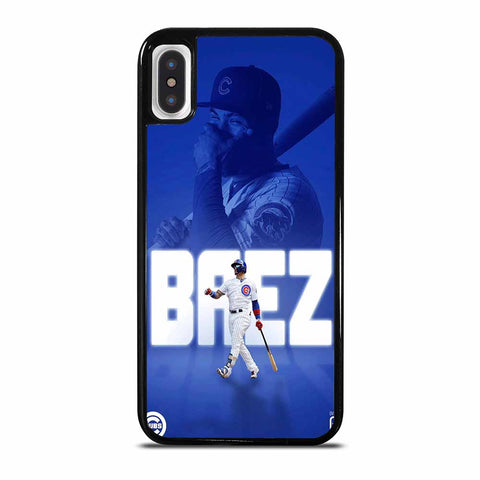JAVIER BAEZ CHICAGO CUBS 1 iPhone X / XS case