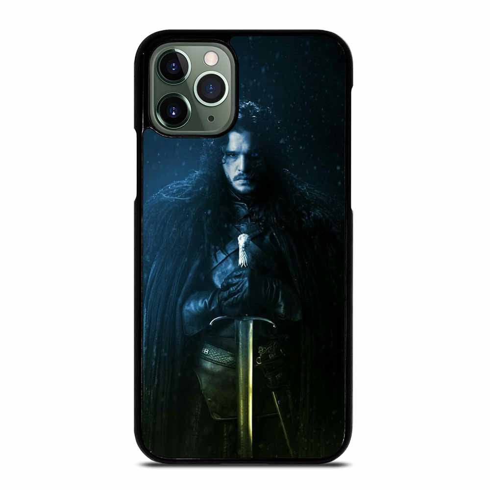 JON SNOW GAME OF THRONES #1 iPhone 11 Pro Max Case