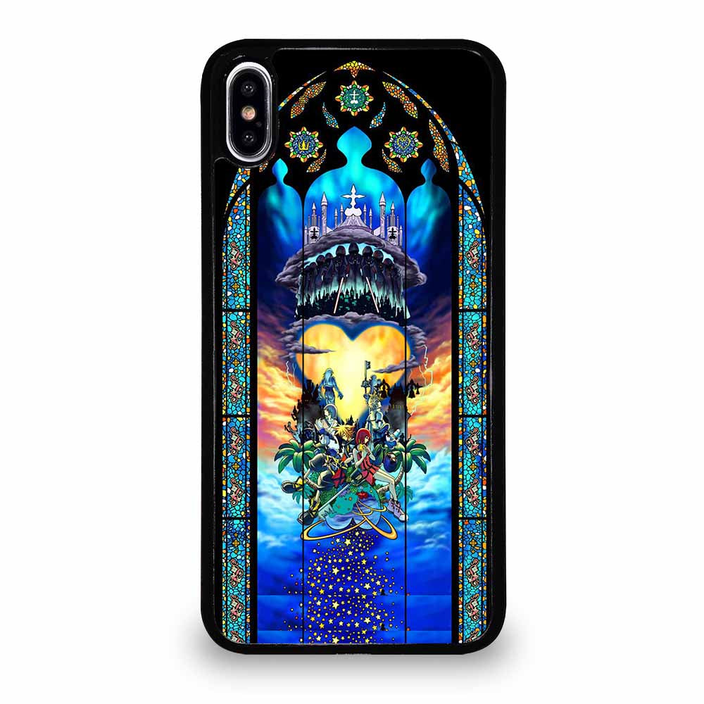 KINGDOM HEARTS STAINED GLASS ART iPhone XS Max Case