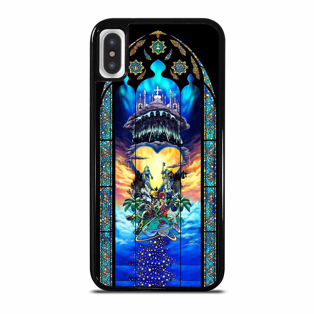 KINGDOM HEARTS STAINED GLASS ART iPhone X / XS Case