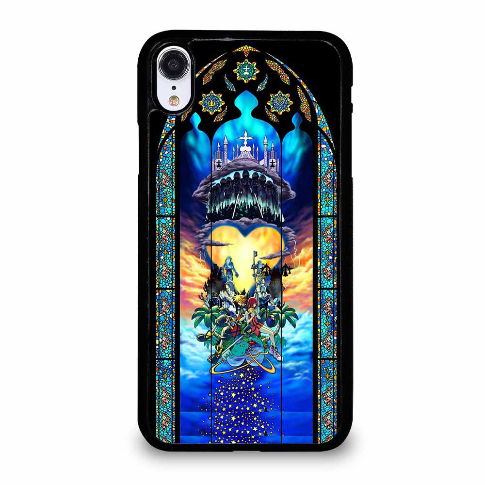 KINGDOM HEARTS STAINED GLASS ART iPhone XR Case