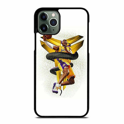 KOBE BRYANT BLACK MAMBA #1 iPhone 11 Pro Max Case