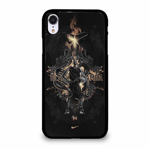 KOBE BRYANT BLACK MAMBA ICON iPhone XR case