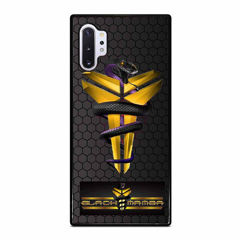 KOBE BRYANT BLACK MAMBA LOGO #1 Samsung Galaxy Note 10 Plus Case