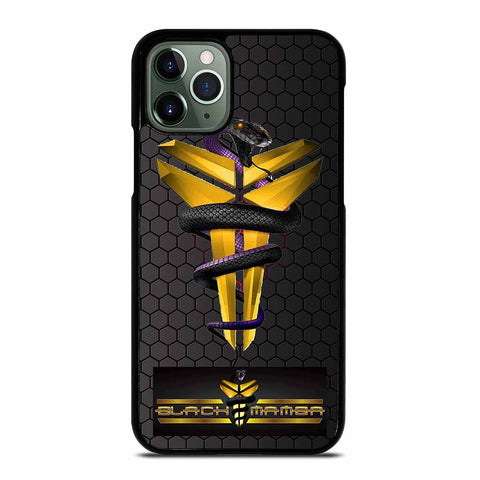 KOBE BRYANT BLACK MAMBA LOGO #1 iPhone 11 Pro Max Case