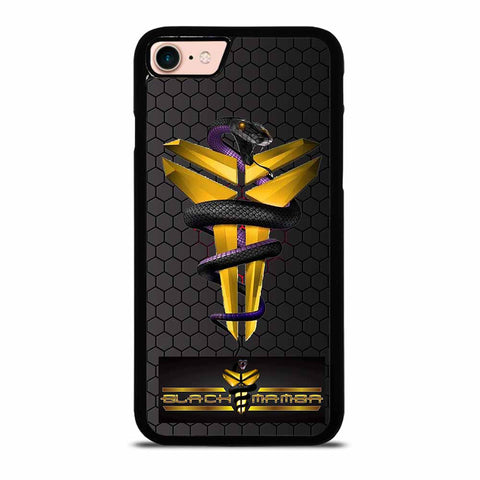 KOBE BRYANT BLACK MAMBA LOGO #1 iPhone 7 / 8 Case