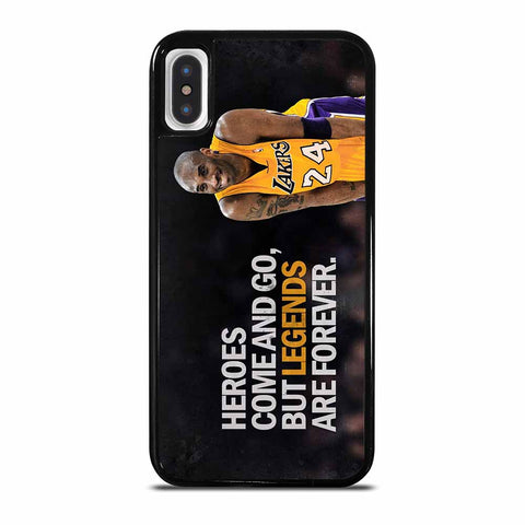 KOBE BRYANT LA LAKERS iPhone X / XS case
