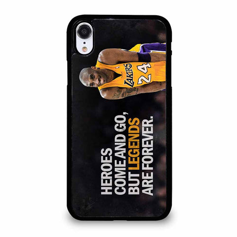 KOBE BRYANT LA LAKERS iPhone XR case