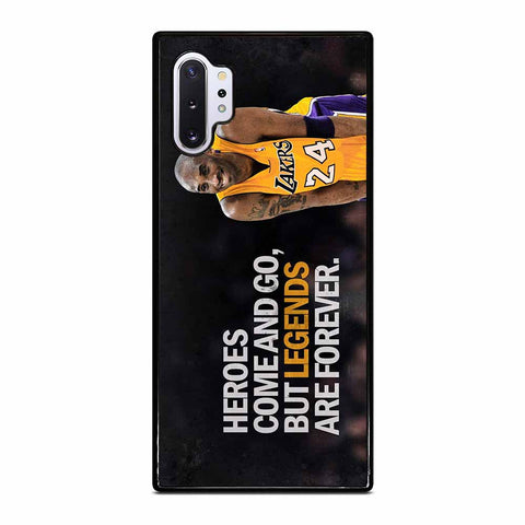 KOBE BRYANT LA LAKERS Samsung Galaxy Note 10 Plus Case