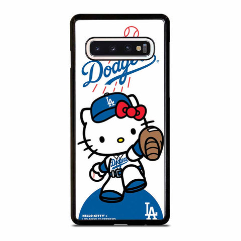 LA DODGERS HELLO KITTY #1 Samsung Galaxy S10 Case