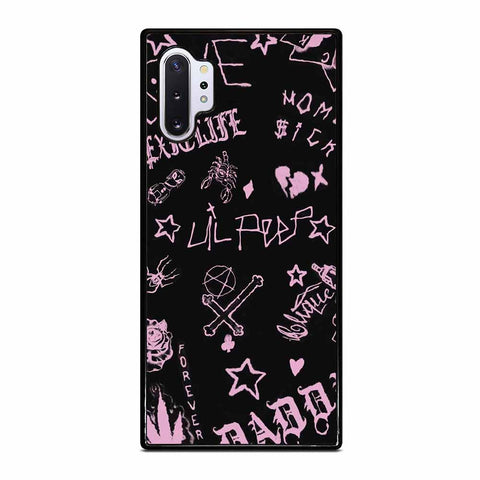 LIL PEEP LIFE IS BEAUTIFUL Samsung Galaxy Note 10 Plus Case