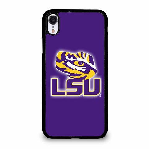 LSU TIGERS iPhone XR case